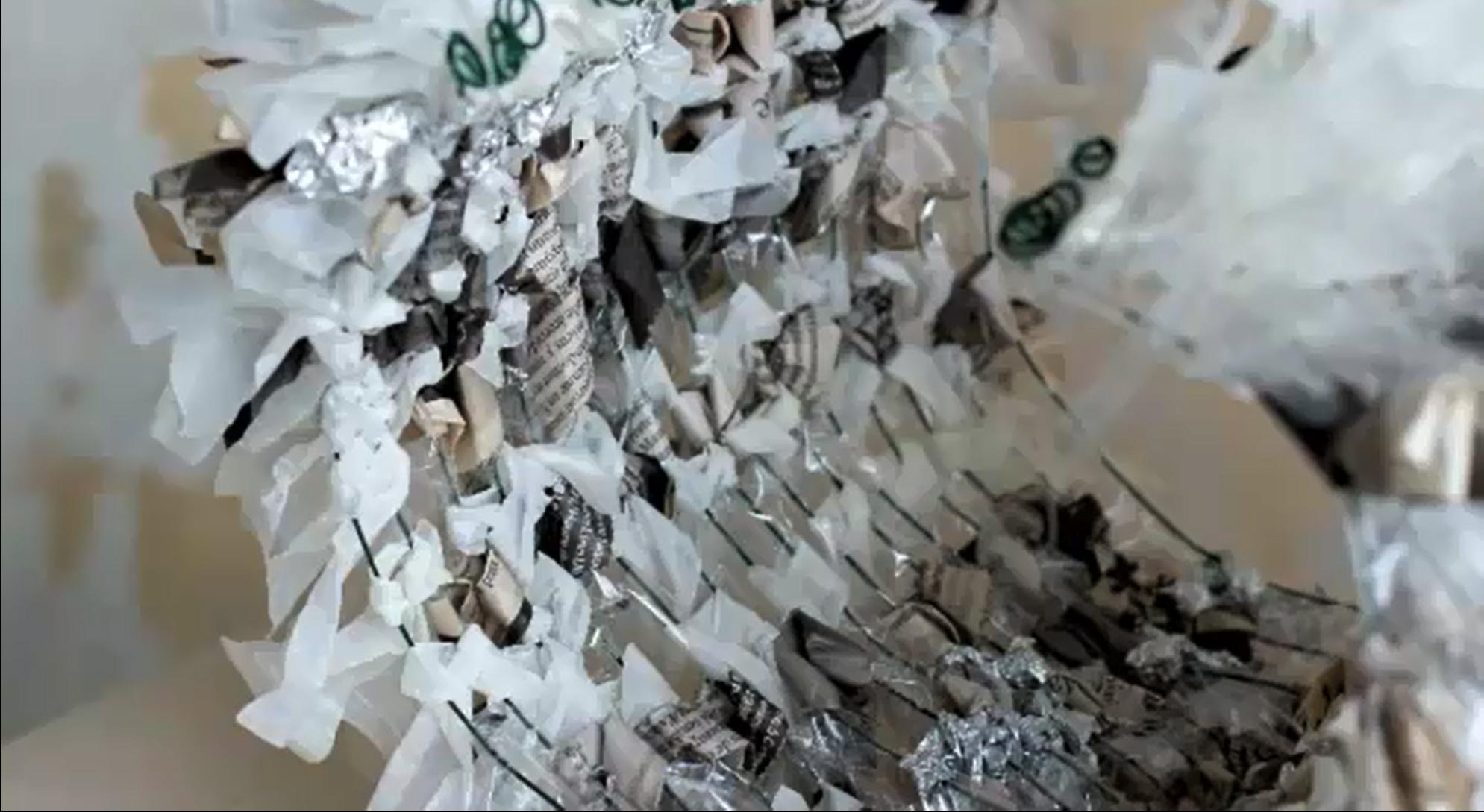 papier aluminium, papier sulfurisé & journal le Monde