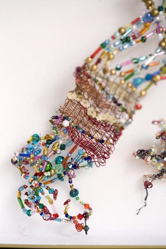 Bracelet perlé