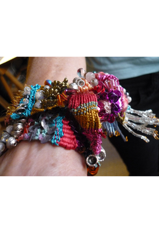 Bracelet Fanny en situation (porté lors d'un mariage berbère)